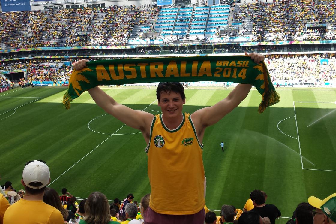 Adam at Spain vs Australia