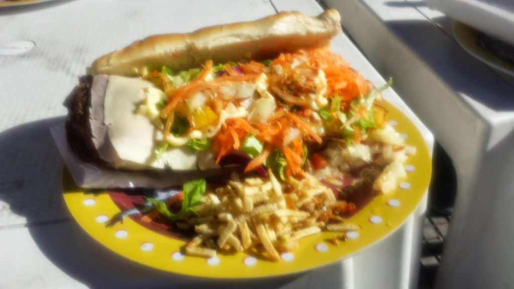 Argentina lunch