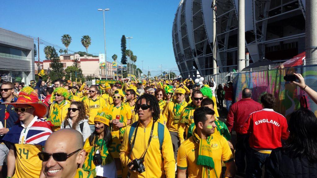 Socceroos - Dutch pre match