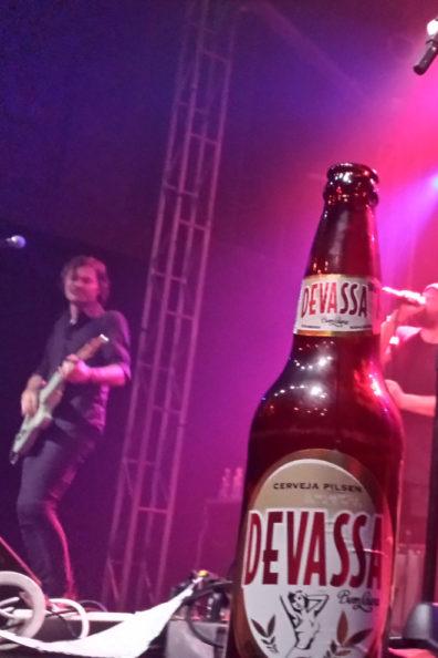 Rock concert header
