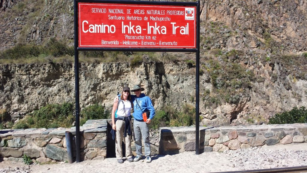 Inca Trail beginning