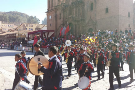 Cusco Square festivities