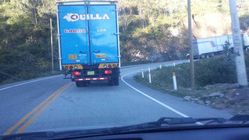Damn trucks!