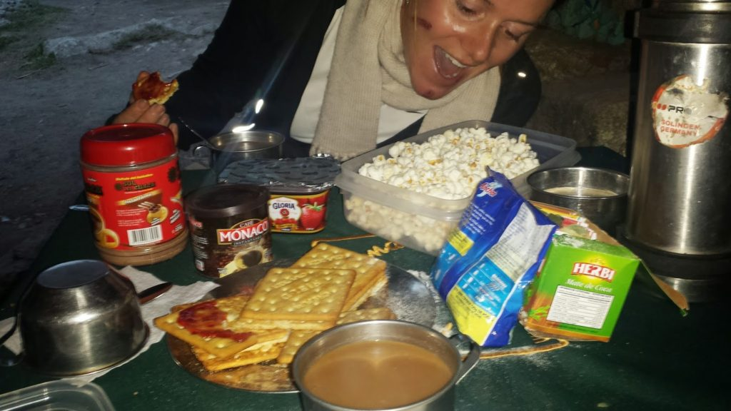 Dinner on Day 2