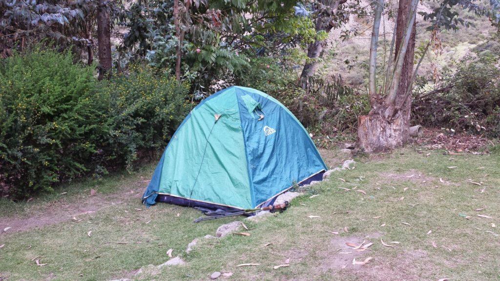Inca tent day 1