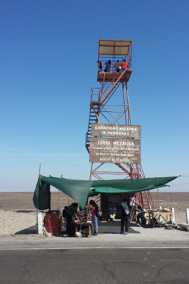 Nasca Lines tower