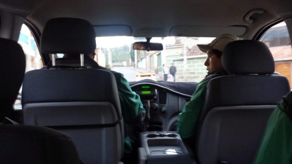 Peru mini van