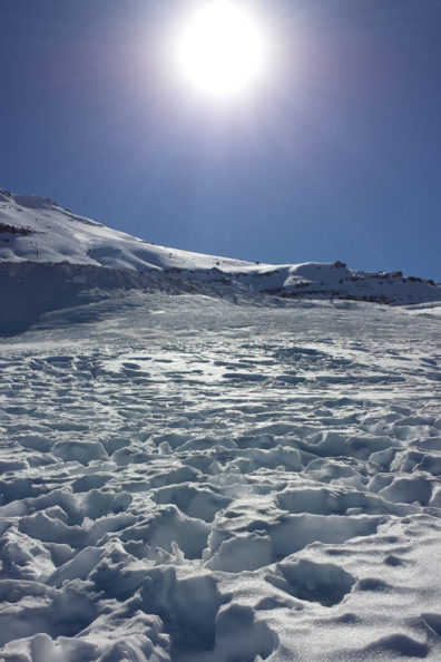 Andes snow & sun