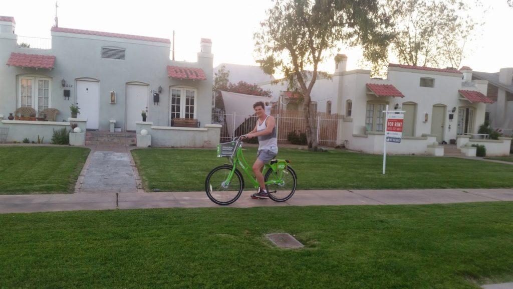 Adam Phoenix bike ride