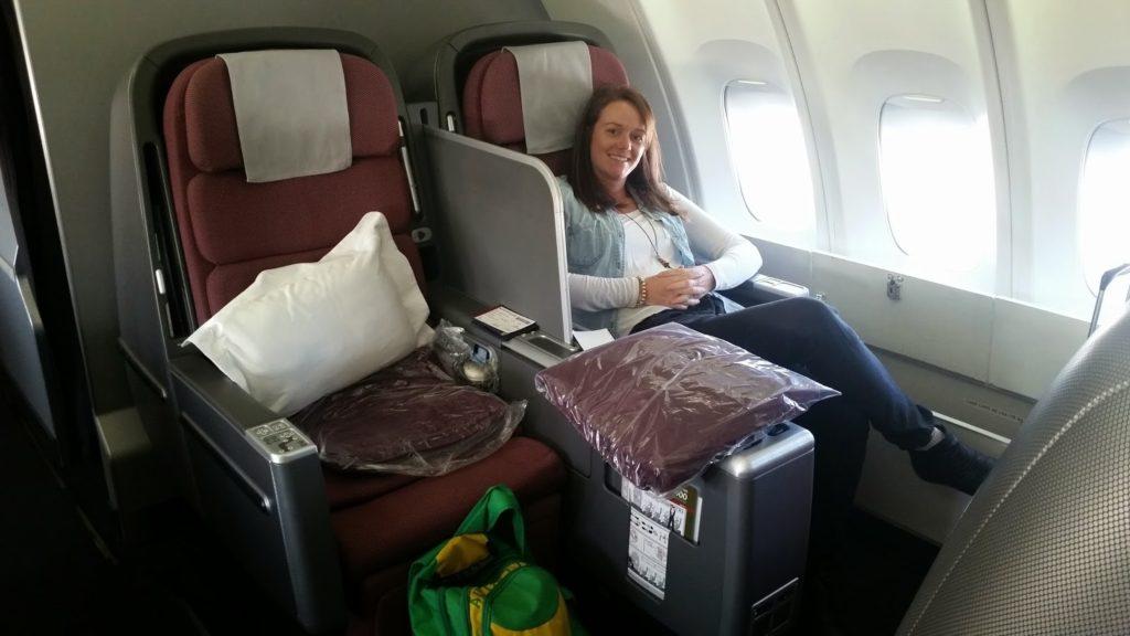 Business Class, Qantas