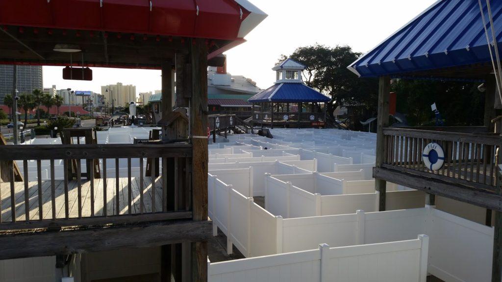 Panama City Beach Maze