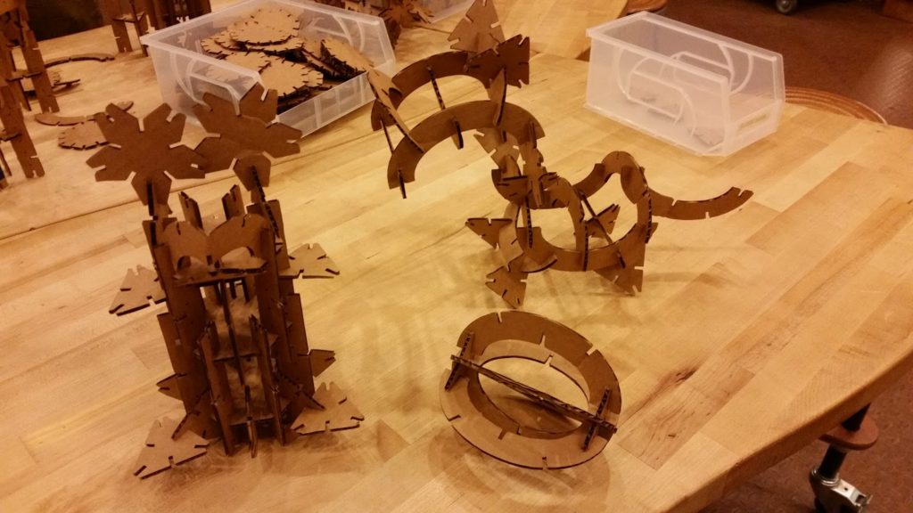 Science museum creations