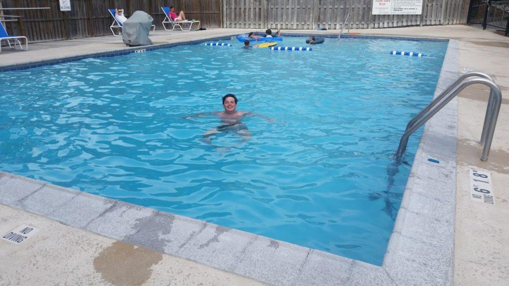 Adam Rivers End Campground pool