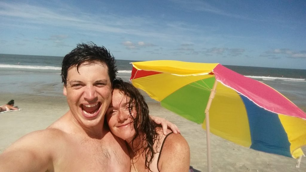 Us at Tybee Island beach