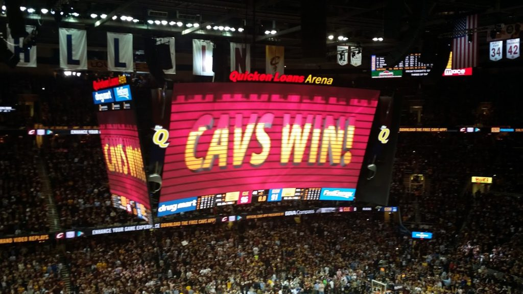 Cavs win Game 2