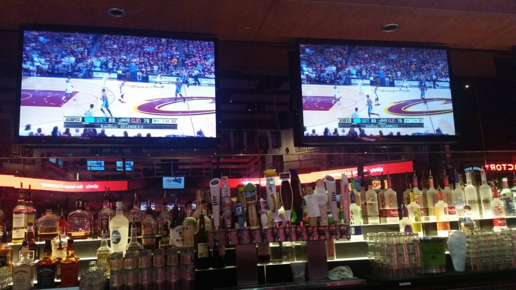 Watching Cleveland vs Golden State