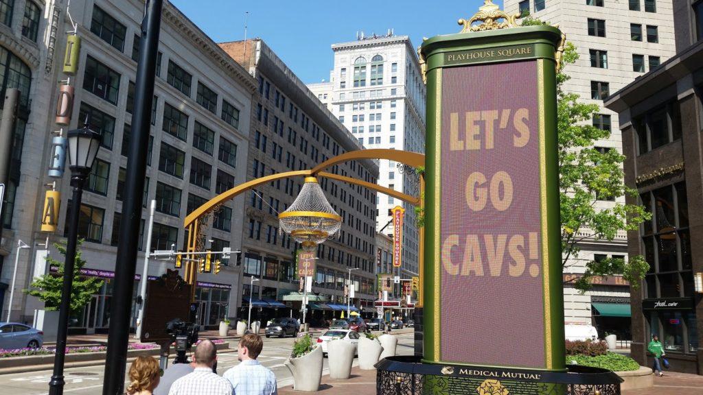 Let's Go Cavs!