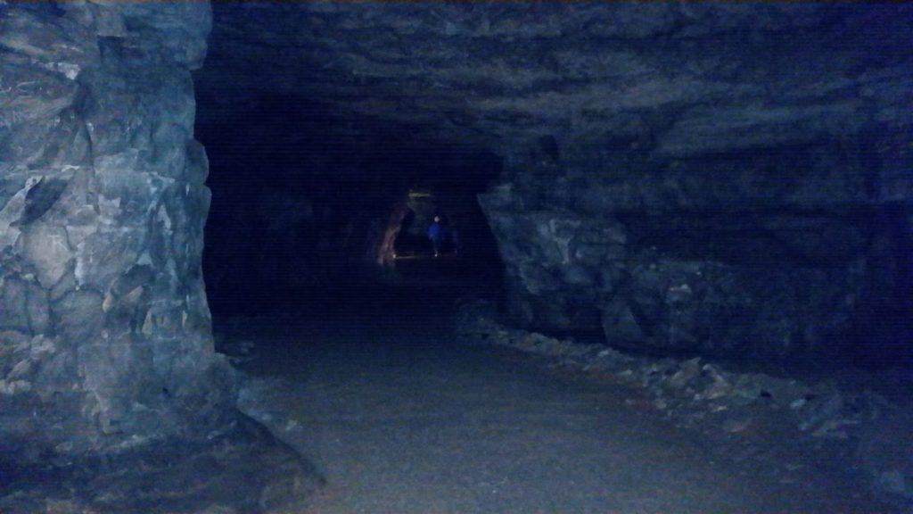 Mammoth Caves dark
