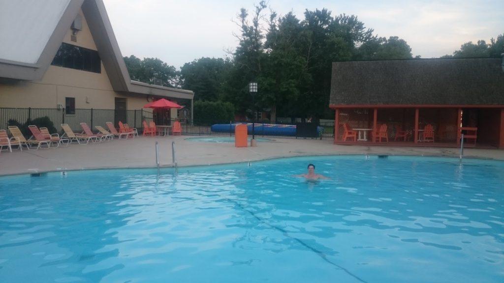 Nashville KOA pool