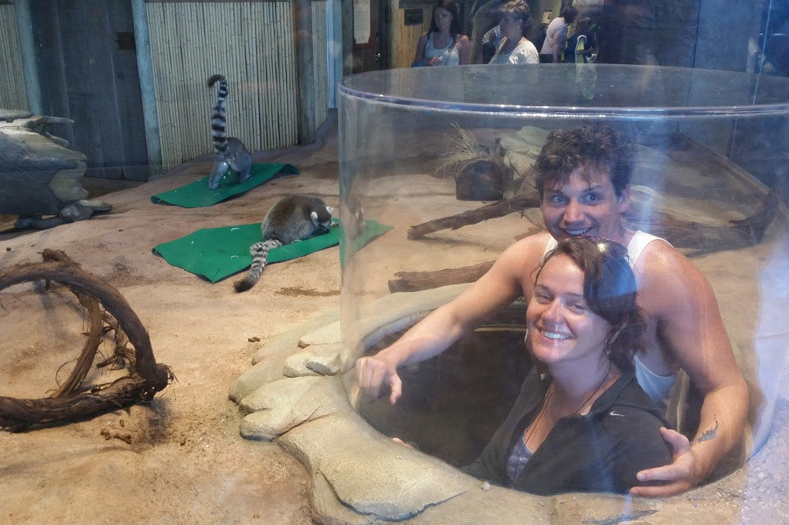 Photos with Lemurs
