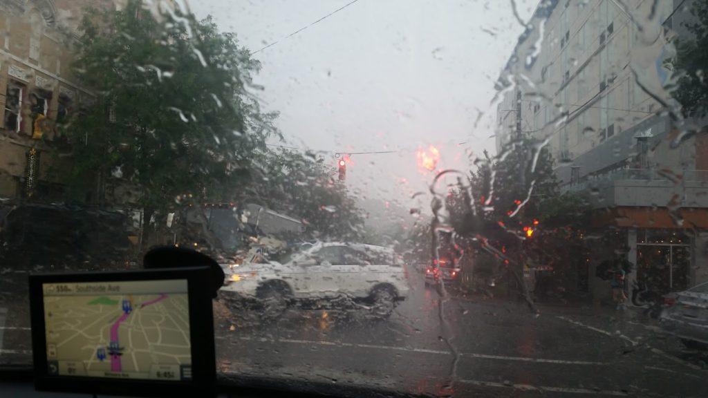 Raining in Ashville