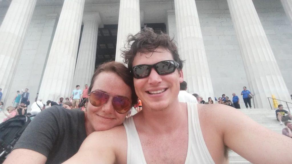 Washington DC selfie