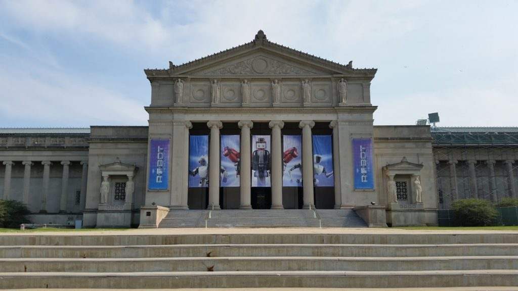Chicago museum front