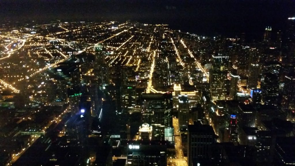 Chicago Tower view