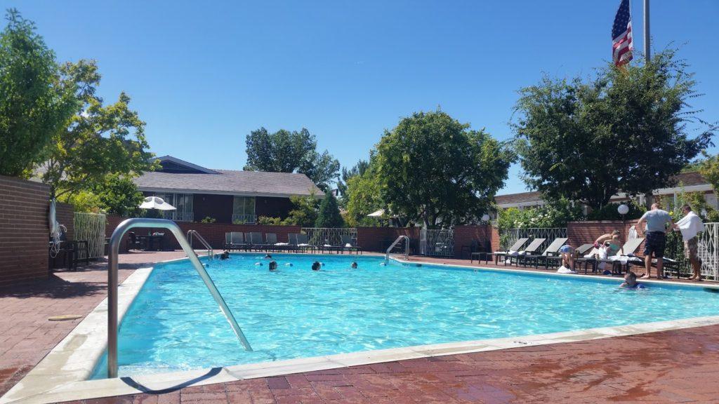 Hotel pool Utah