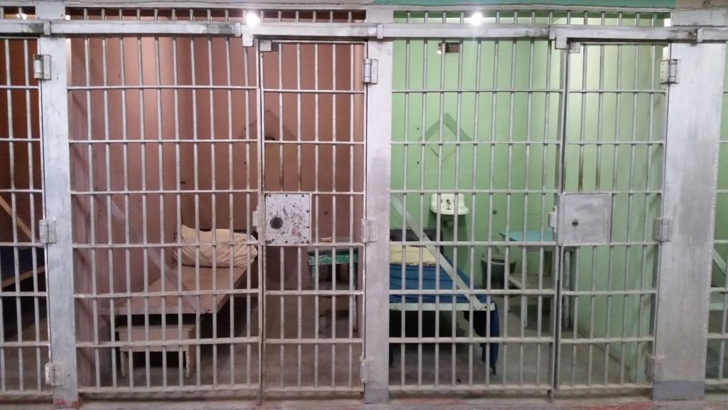 Idaho State Penitentiary jail cell