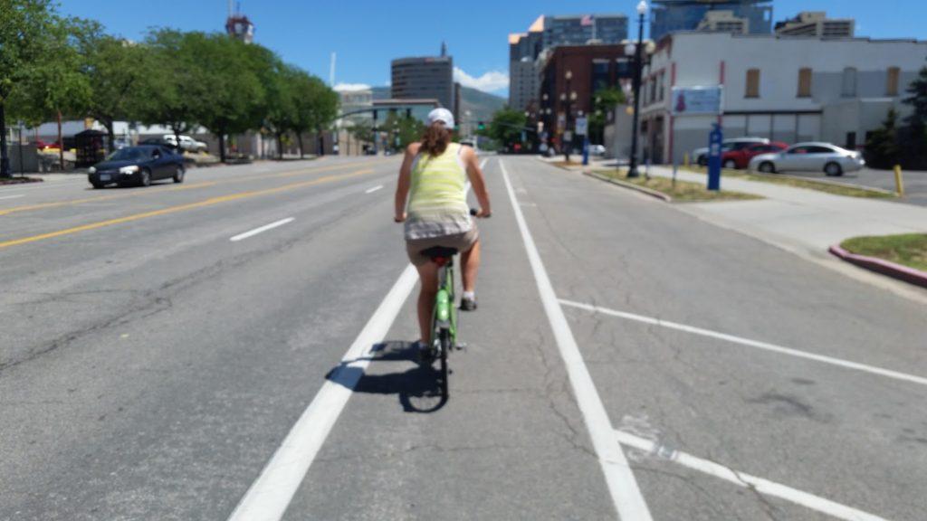 Linnie bike riding