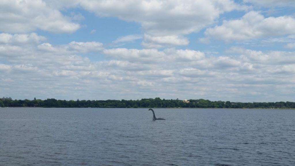 Minneapolis Lake dinosaur