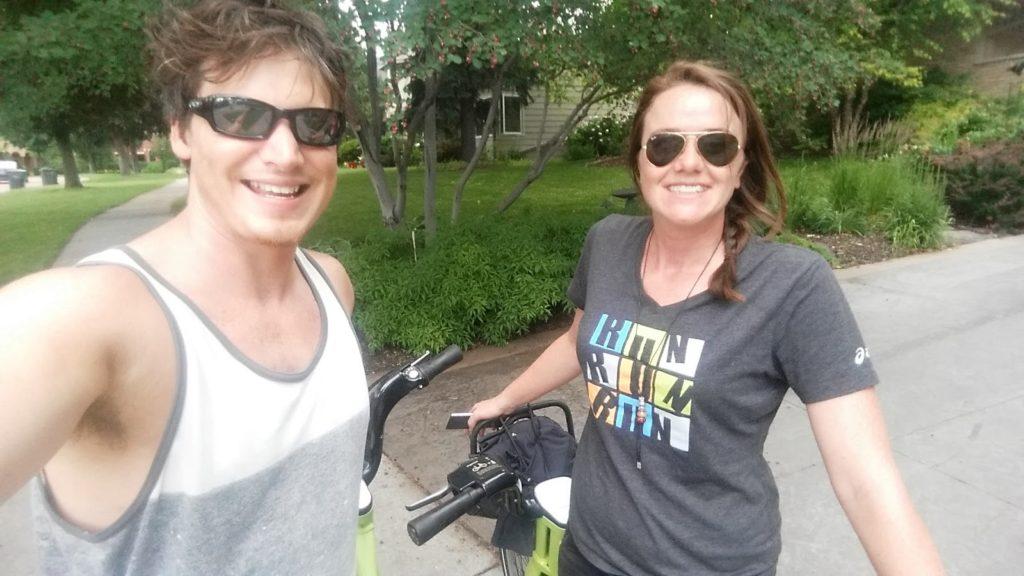 Minneapolis bike ride