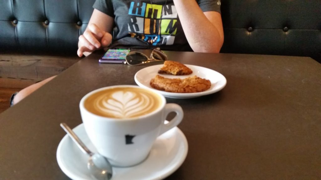 Minneapolis coffee stop