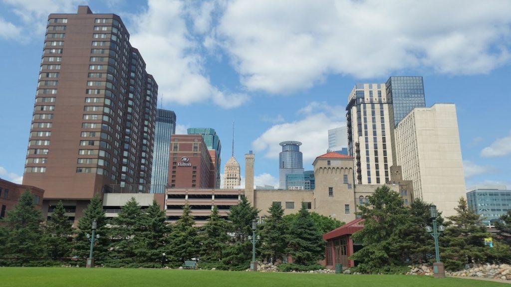 Minneapolis Sky Line