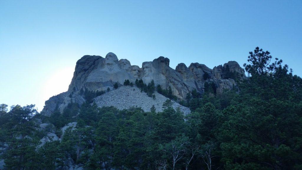 Mt Rushmore sunset