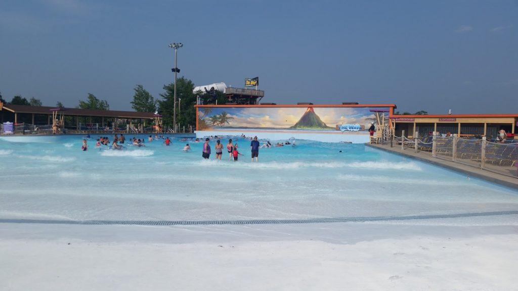 Noah's Ark wave pool