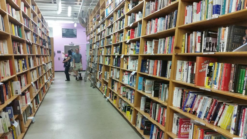 The massive bookshop in Portland