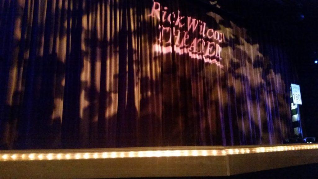 Rick Wilcox stage