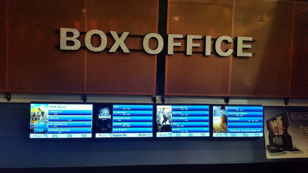 Seattle movie box office