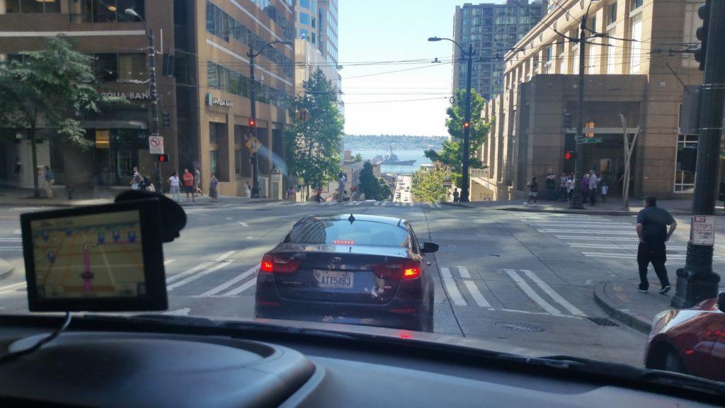 Driving in Seattle looks fun!