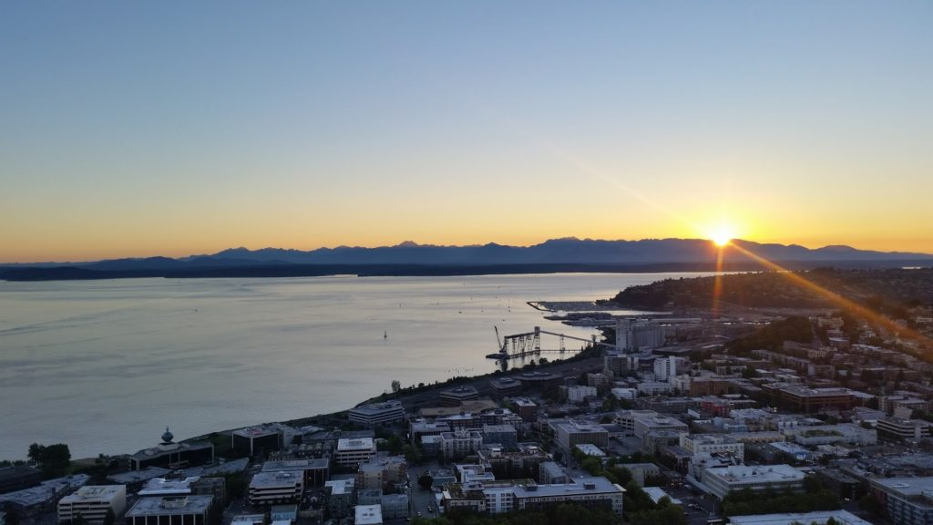 Seattle Space Needle view 1