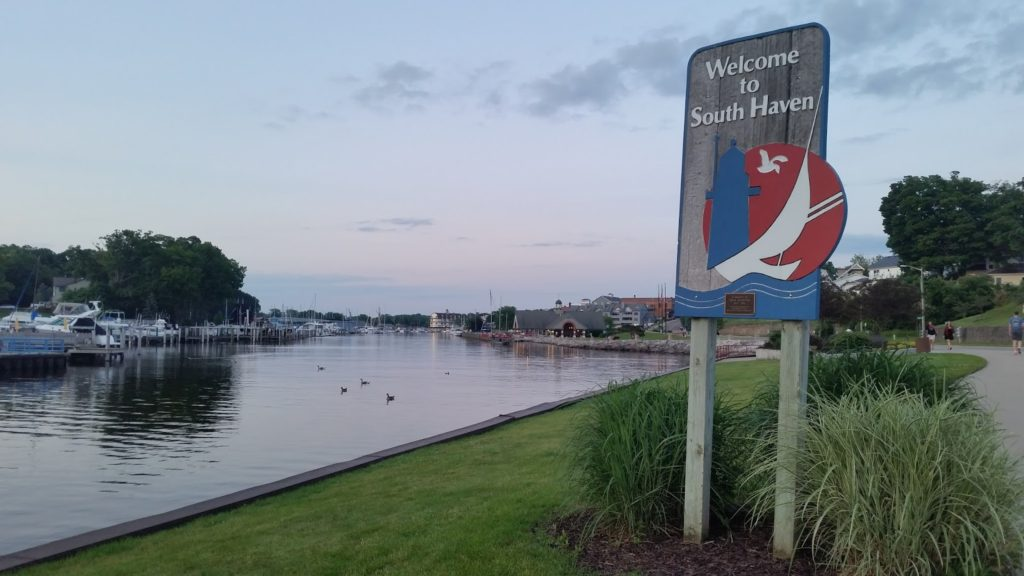 South Haven sign