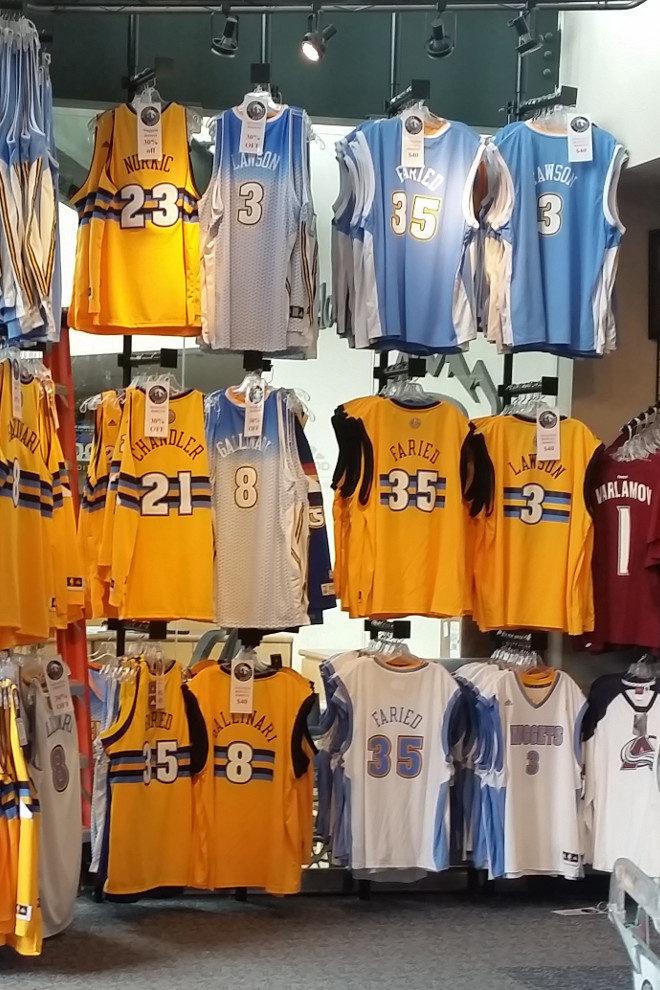 Denver Nuggets team shop