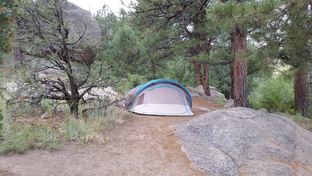 Tent fating camping