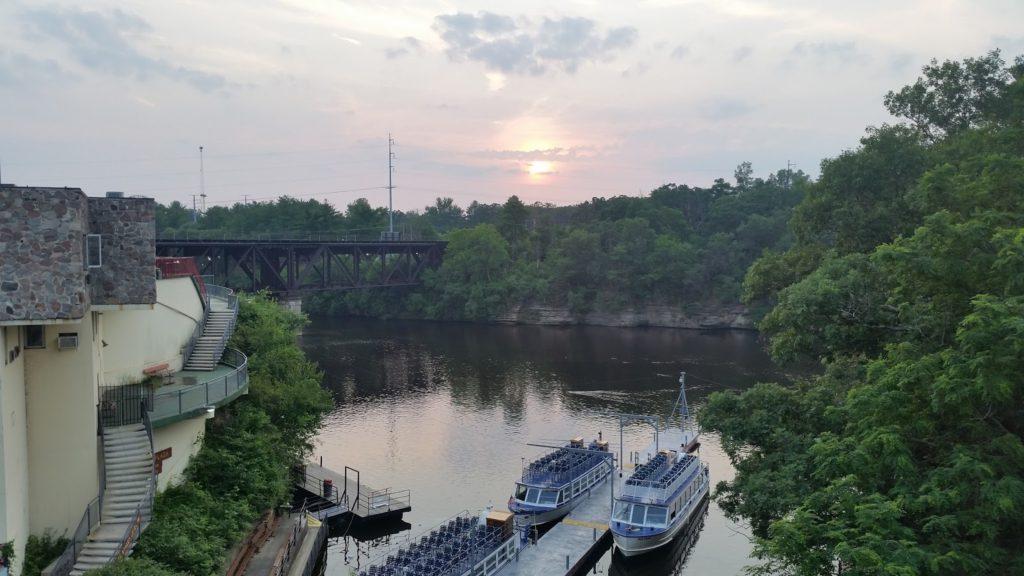 Wisconsin Dells river
