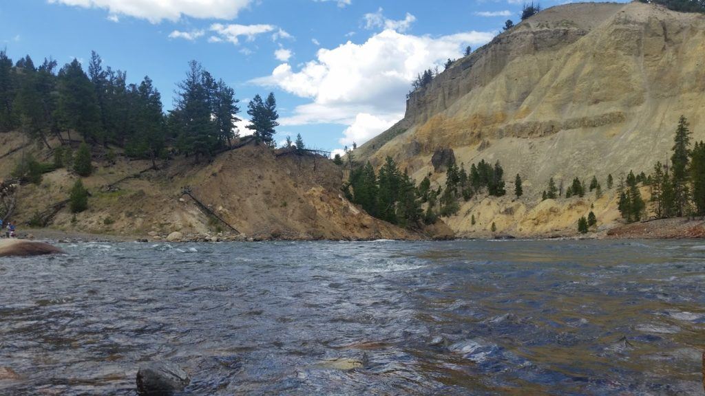 Yellowstone river stop