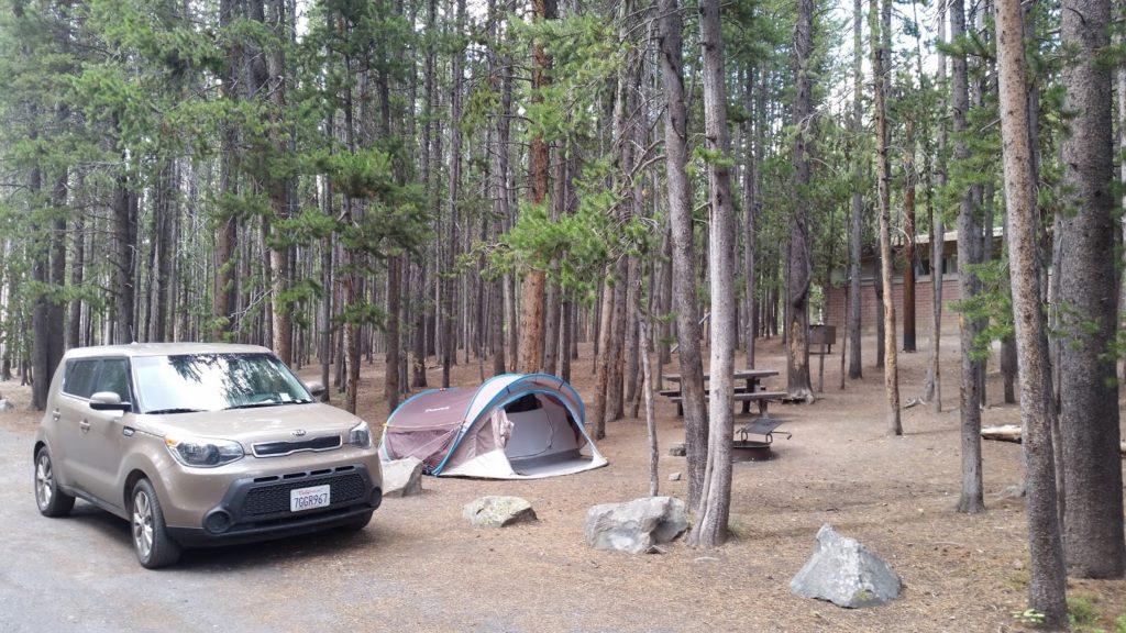 Yellowstone tent