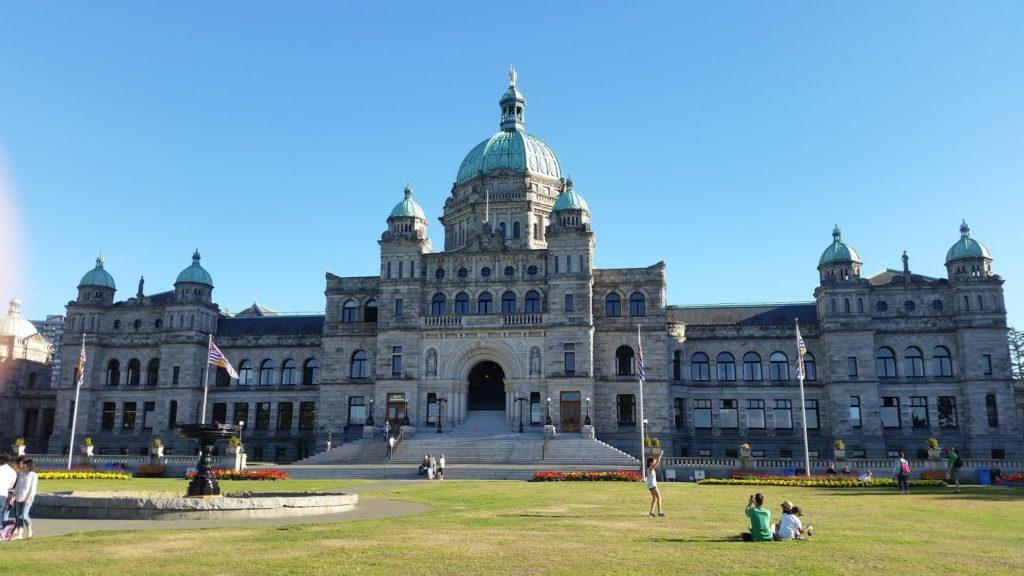Victoria, Canada building