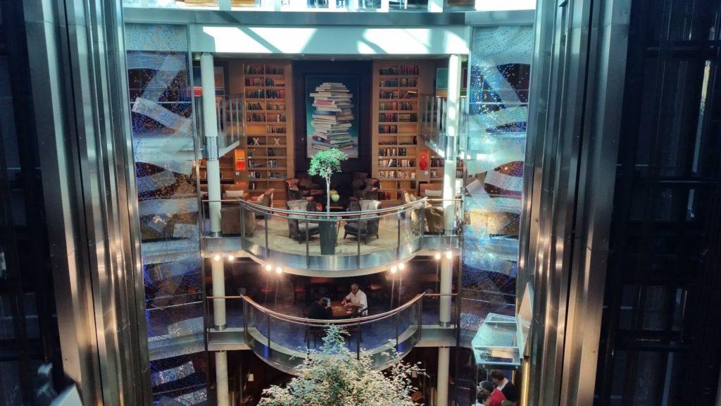Celebrity Solstice elevator